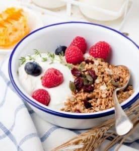 Exemple de petit déjeuner minceur