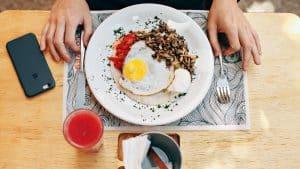 Repas sans gluten